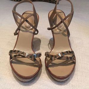 Aquazzura espadrille wedge sandal